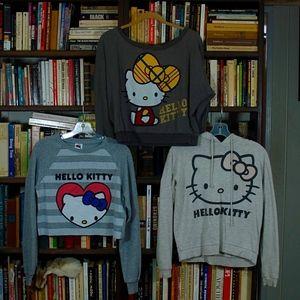 Bundle of 3 Hello Kitty Sweatshirts